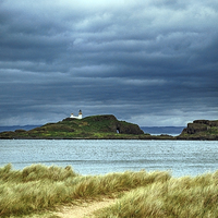 Buy canvas prints of  Island Lighthouse by Michelle BAILEY