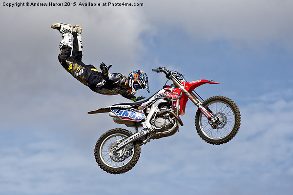 Bolddog Lings FMX Display Team Canvas print by Andrew Harker