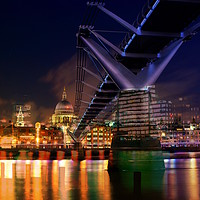Buy canvas prints of City Of London by sylvia scotting