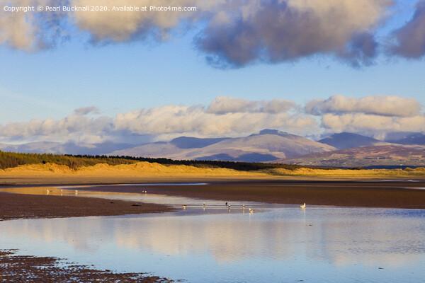 Llanddwyn Beach in Anglesey Acrylic by Pearl Bucknall