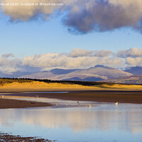 Buy canvas prints of Llanddwyn Beach in Anglesey by Pearl Bucknall
