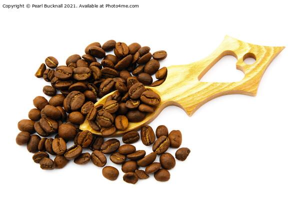 Love Coffee Acrylic by Pearl Bucknall