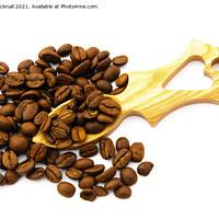 Buy canvas prints of Love Coffee by Pearl Bucknall
