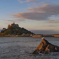 Buy canvas prints of st michaels mount cornwall by Kevin Britland