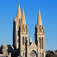 Buy canvas prints of Truro Cathedral Cornwall by Kevin Britland