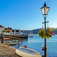 Buy canvas prints of River Dart Dartmouth by Kevin Britland