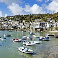 Buy canvas prints of mousehole cornwall by Kevin Britland