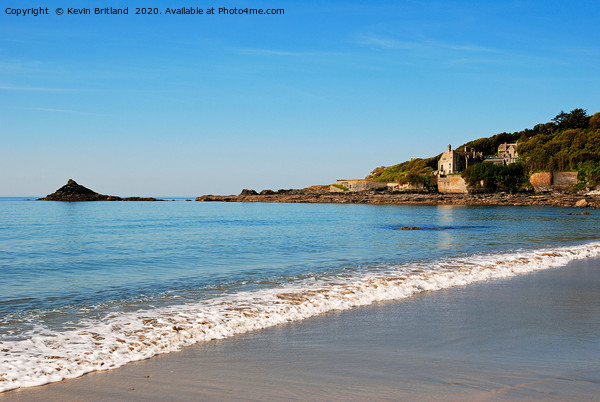 kenneggy sands cornwall Canvas Print by Kevin Britland