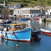 Buy canvas prints of mevagissey cornwall by Kevin Britland