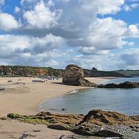 Buy canvas prints of Carlyon Bay Cornwall by Kevin Britland