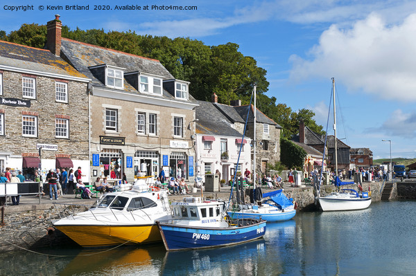 Padstow Cornwall Canvas Print by Kevin Britland