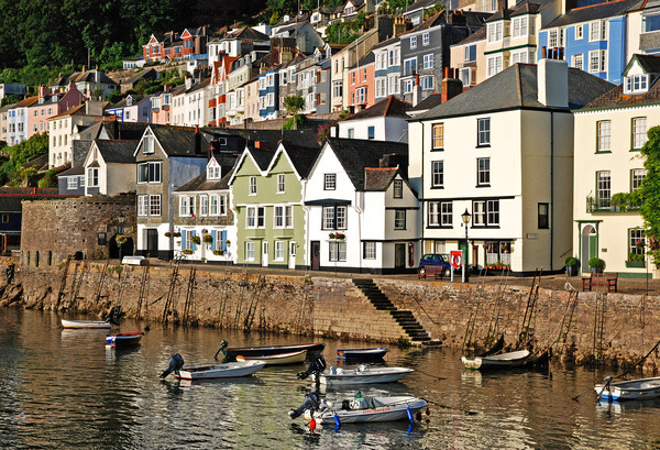 bayards cove in the historic town of dartmouth Canvas Print by Kevin Britland