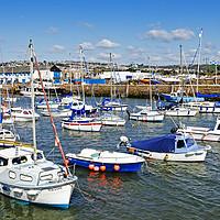 Buy canvas prints of paignton harbour by Kevin Britland