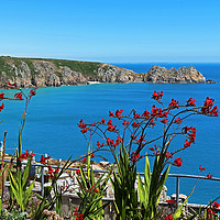 Buy canvas prints of summer on the cornish coast by Kevin Britland