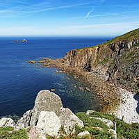 Buy canvas prints of cot cove cornwall by Kevin Britland