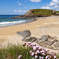 Buy canvas prints of Cornish beach by Kevin Britland