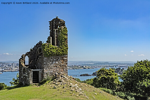 Mount edgecombe folly Print by Kevin Britland