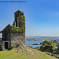 Buy canvas prints of Mount edgecombe folly by Kevin Britland
