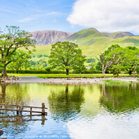 Buy canvas prints of Buttermere Lake and Fell by Graham Prentice
