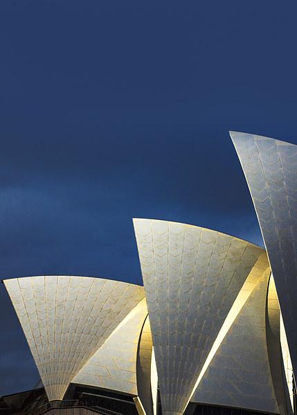 Sydney Opera House sails Canvas print by Sheila  Smart