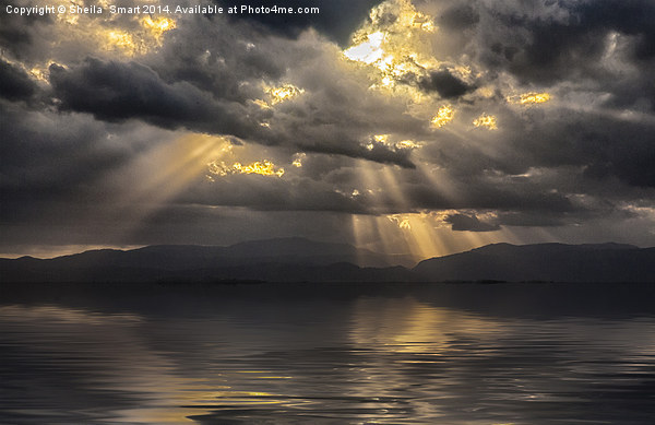 Byron Bay sunset Canvas print by Sheila  Smart