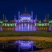 Buy canvas prints of Brighton Pavillion At Night by LensLight Traveler