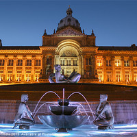 Buy canvas prints of Victoria Square, Birmingham by Diane Griffiths