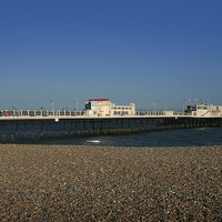 Buy canvas prints of Worthing Pier by Diane Griffiths