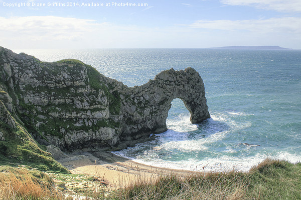 Durdle Door Canvas print by Diane Griffiths