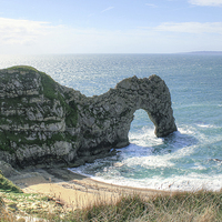 Buy canvas prints of Durdle Door by Diane Griffiths