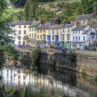 Buy canvas prints of  Matlock Bath by Diane Griffiths