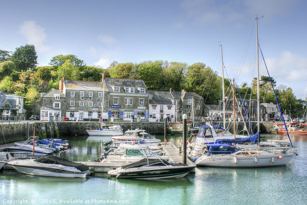 Padstow Harbour Canvas print by