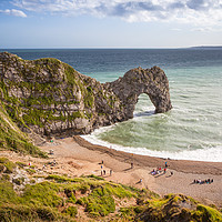 Buy canvas prints of Durdle Door by Andy Barker