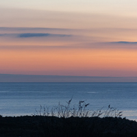 Buy canvas prints of Sunrise over North Sea by Robert Murray