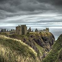 Buy canvas prints of  Dunnottar Castle by Robert Murray