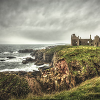 Buy canvas prints of Slains Castle by Robert Murray