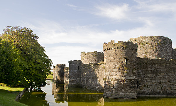 Beaumaris Castle, Anglesey Print by Andy Heap