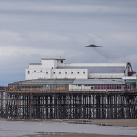 Buy canvas prints of XH558 approaches Blackpool for the last time by Jason Wells
