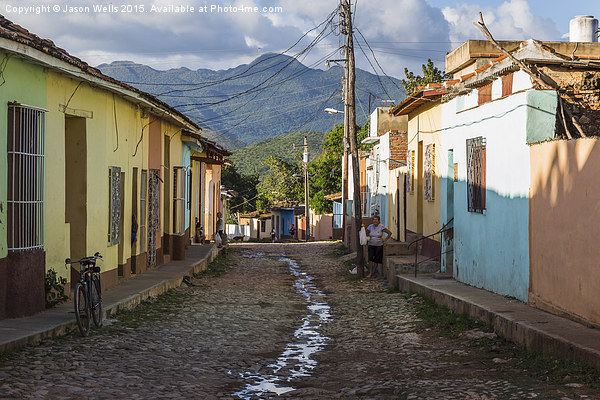 Stunning scenery beyond Trinidad Canvas print by Jason Wells