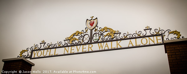 Shankly Gates Canvas print by Jason Wells