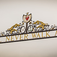 Buy canvas prints of Shankly Gates by Jason Wells