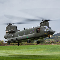 Buy canvas prints of CH-47-HC.6A Chinook helicopter by Jason Wells