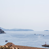 Buy canvas prints of Dubrovnik seascape by Jason Wells