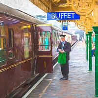 Buy canvas prints of North Norfolk Railway by Jason Wells