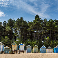Buy canvas prints of Beach huts at Wells next the Sea by Jason Wells