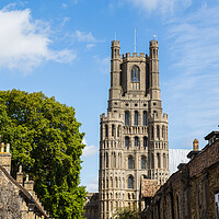 Buy canvas prints of The skyline of Ely by Jason Wells