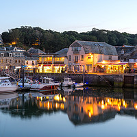 Buy canvas prints of  Padstow Harbour. by John Fowler