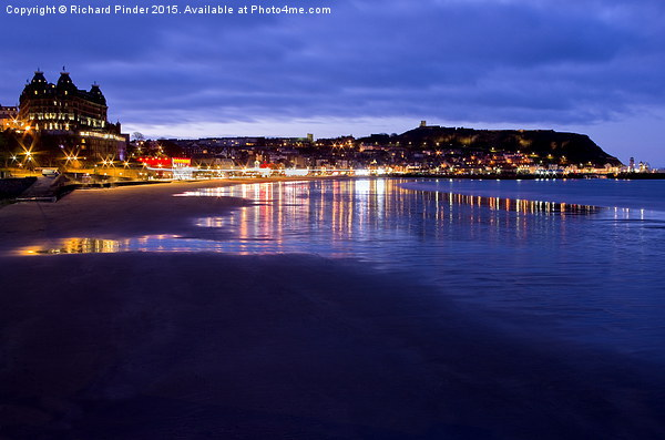South Bay, Scarborough North Yorkshire Canvas print by Richard Pinder