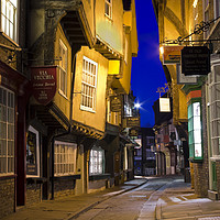 Buy canvas prints of The Shambles, York by Richard Pinder