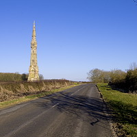 Buy canvas prints of Sir Tatton Sykes Monument, Sledmere  East Yorkshir by Richard Pinder
